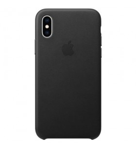 IPHONE XS LEATHER CASE/BLACK