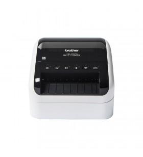 Brother QL-1110NWB imprimante pentru etichete Direct termică 300 x 300 DPI Prin cablu & Wireless DK
