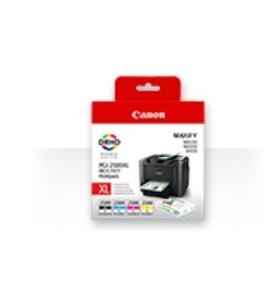 Canon PGI-2500XL C M Y BK Original Negru, Cyan, Magenta, Galben Pachet multiplu