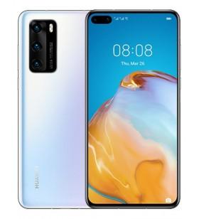"""Huawei P40 15,5 cm (6.1"""") 8 Giga Bites 128 Giga Bites 5G USB tip-C Alb Android 10.0 3800 mAh"""