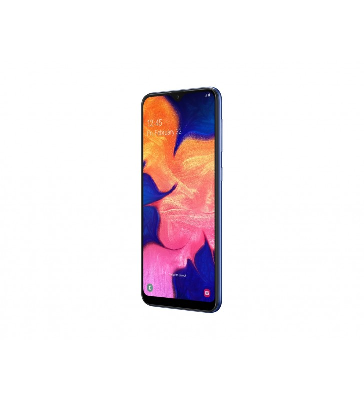 "Samsung Galaxy A10 SM-A105F 15,8 cm (6.2"") 2 Giga Bites 32 Giga Bites Dual SIM 4G Micro-USB Albastru 3400 mAh"