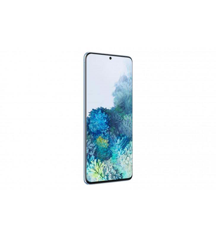 "Samsung Galaxy S20+ 17 cm (6.7"") 8 Giga Bites 128 Giga Bites Dual SIM 4G USB tip-C Albastru Android 10.0 4500 mAh"