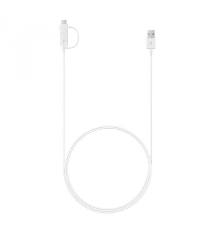 Samsung EP-DG930 cabluri USB 1,5 m 2.0 3.2 Gen 1 (3.1 Gen 1) USB A USB C Micro-USB B Alb