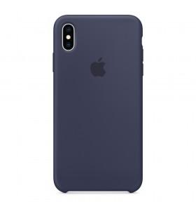 Husa de protectie Apple pentru iPhone Xs Max, Silicon - Albastru intunecat