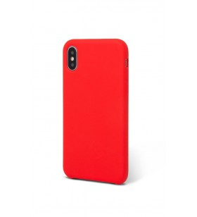 Silicon case for iPhone XS Max EPICO SILICONE - red