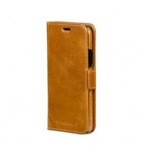 Husa de protectie Lynge pentru iPhone X si iPhone Xs, Piele - Bronz