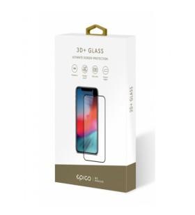 Folie de protectie din sticla Epico 3D+ pentru iPhone X/Xs, Negru