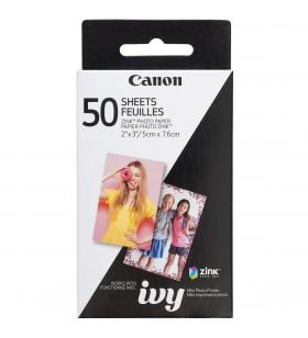 Set Canon Zoemini Hartie Foto Instant Zink 50 Coli