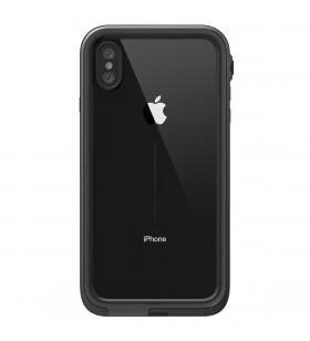 Husa rezistenta la apa pentru iPhone Xs Catalyst, Negru