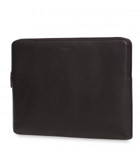 """Husa de protectie Knomo BARBICAN pentru MacBook Pro 15"""", Piele, Negru"""