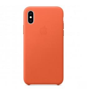 Husa de protectie Apple pentru iPhone Xs Max, Piele, Sunset