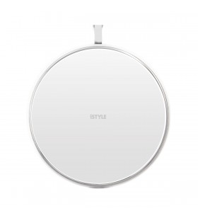 Incarcator Wireless iSTYLE Ultraslim pentru iPhone, Alb