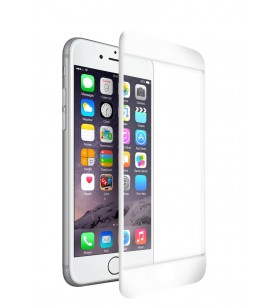 Folie de protectie din sticla 3D Next One pentru iPhone 7/8/SE, Alb