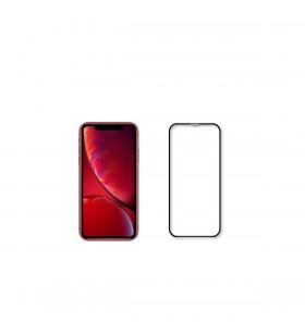 Folie de protectie din sticla 3D Next One pentru iPhone XR, Negru