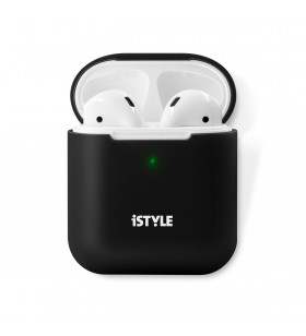 iSTYLE Silicone Cover AirPods 2nd gen - Black