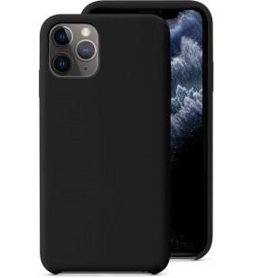 Husa de protectie Epico pentru iPhone 11 Pro, Silicon, Negru