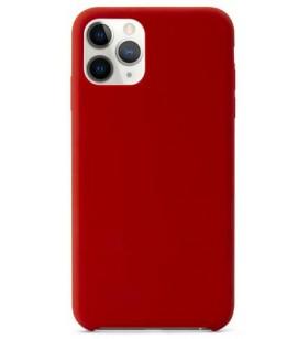 Husa de protectie Epico pentru iPhone 11 Pro, Silicon, Rosu