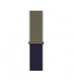 Apple Watch 44mm Band: Khaki Sport Loop