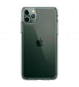 Husa de protectie Spigen Crystal Hybrid pentru iPhone 11 Pro Max, Transparent