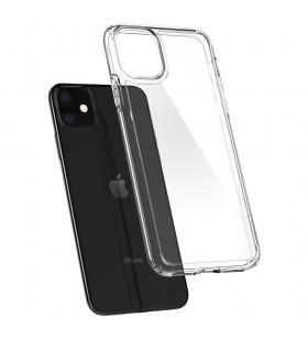 Husa de protectie Spigen Crystal Hybrid pentru iPhone 11, Transparent