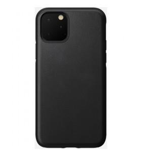 Husa de protectie Nomad pentru iPhone 11 Pro, Piele, Negru
