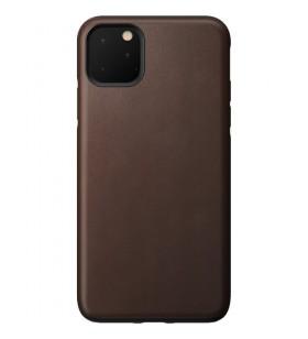 Husa de protectie Nomad pentru iPhone 11 Pro Max, Piele, Maro