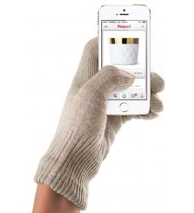 Manusi Touchscreen Mujjo, Small/Medium, Sandstone
