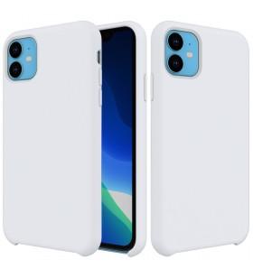 Husa de protectie Next One pentru iPhone 11, Silicon, Alb