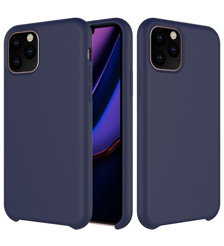 Husa de protectie Next One pentru iPhone 11 Pro, Silicon, Cobalt Blue