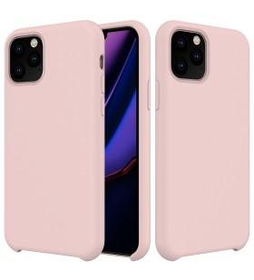 Husa de protectie Next One pentru iPhone 11 Pro, Silicon, Pink Sand