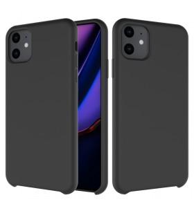 Husa de protectie Next One pentru iPhone 11 Pro Max, Silicon, Negru