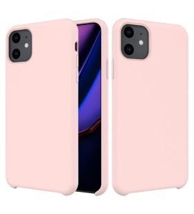 Husa de protectie Next One pentru iPhone 11 Pro Max, Silicon, Pink Sand