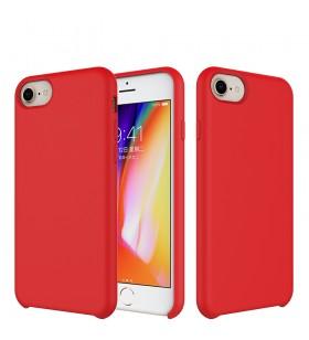 Husa de protectie Next One pentru iPhone 7/8/SE, Silicon, Rosu