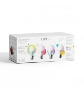 Bec LED inteligent LIFX Mini Colour Wi-Fi, E27, Set de 4