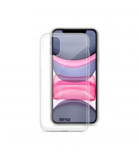 Husa de protectie iSTYLE pentru iPhone 11, Transparent