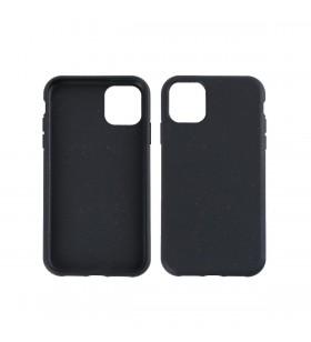 Husa de protectie biodegradabila NextOne pentru iPhone 11 Pro, Negru