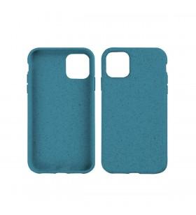 Husa de protectie biodegradabila NextOne pentru iPhone 11 Pro Max, Marine Blue