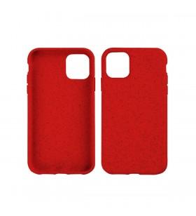 Husa de protectie biodegradabila NextOne pentru iPhone 11 Pro Max, Rosu