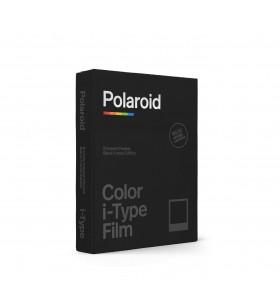 Set 8 coli de film color cu rama neagra pentru Polaroid i-Type