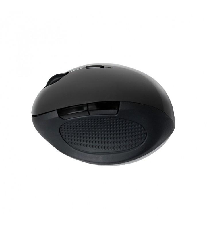 "MOUSE LOGILINK wireless, 1600dpi, 5 butoane, 1 rotita scroll, ergonomic, black ""ID0139"" (include timbru verde 0.1 lei)"