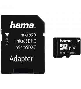 Hama microSDHC 32GB Class 10 UHS-I 80MB/s + Adapter/Photo