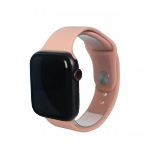 Curea Next One pentru Apple Watch 38/40mm, Silicon, Roz Prafuit