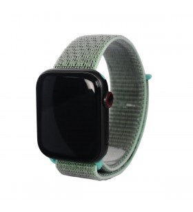 Curea Next One pentru Apple Watch 38/40mm Sport Loop, Marine Green