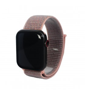 Curea Next One pentru Apple Watch 38/40mm Sport Loop, Roz Prafuit