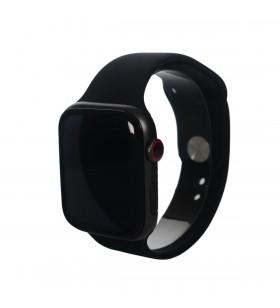 Curea Next One pentru Apple Watch 42/44mm, Silicon, Negru