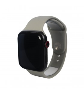 Curea Next One pentru Apple Watch 42/44mm, Silicon, Gri