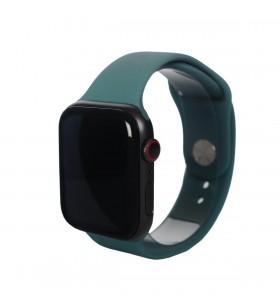 Curea Next One pentru Apple Watch 42/44mm, Silicon, Pine Green