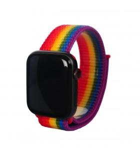 Curea Next One pentru Apple Watch 42/44mm Sport Loop, Pride