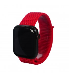 Curea Next One pentru Apple Watch 42/44mm Sport Loop, Rosu