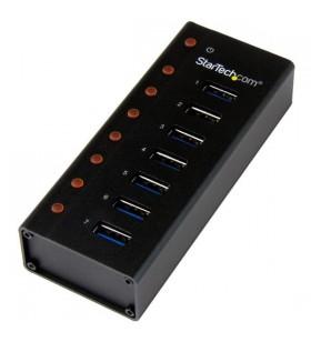 StarTech.com ST7300U3M hub-uri de interfață USB 3.2 Gen 1 (3.1 Gen 1) Type-B 5000 Mbit s Negru